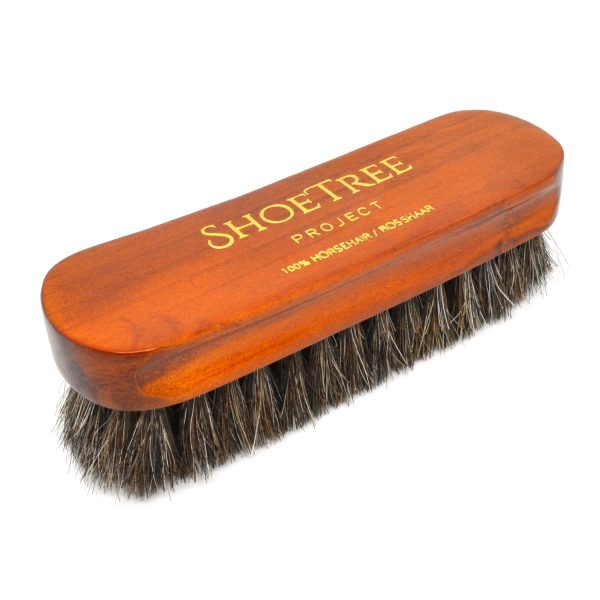 Horse Hair Shoe Buffing Brush