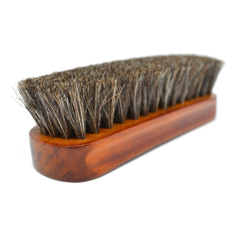 Horse Hair Shoe Buffing Brush bristles