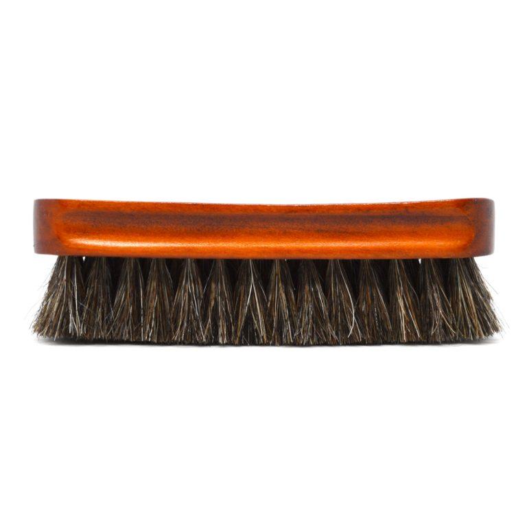 Horse Hair Shoe Buffing Brush side