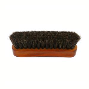 horse hair shoe brush bottom