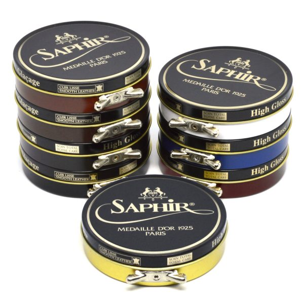 Saphir Pate de Luxe Wax Shoe Polish