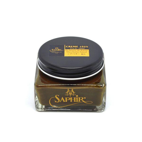 Saphir Pommadier Cream Shoe Polish Medium Brown