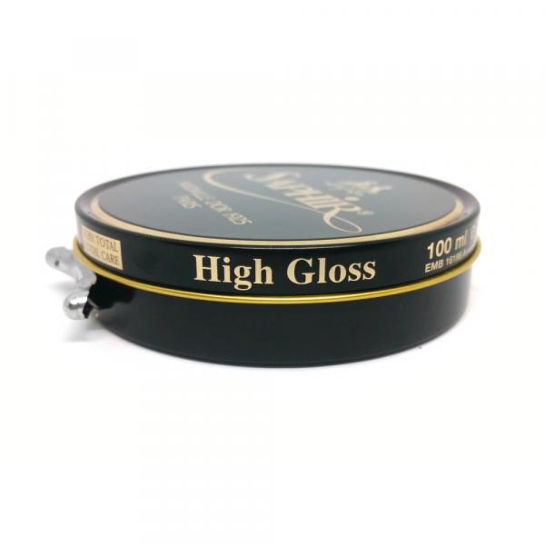 saphir pate de luxe wax polish brown high gloss Singapore
