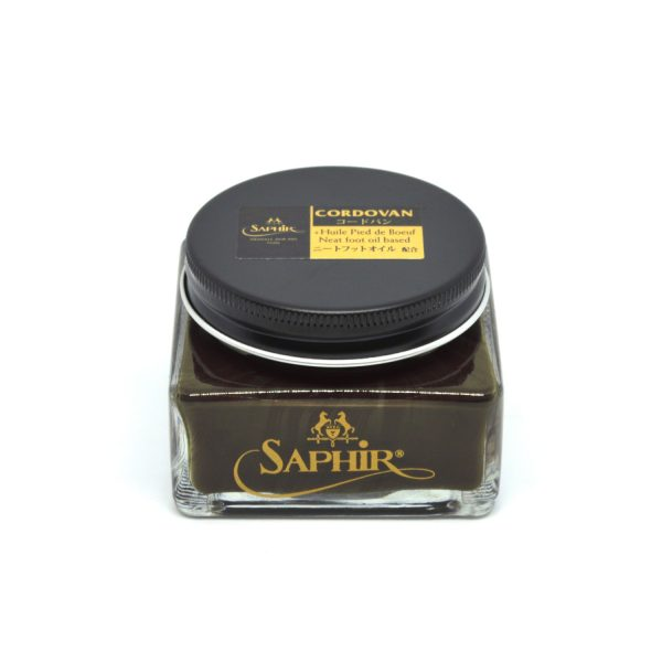 Saphir Cordovan Cream Shoe Polish Dark Brown