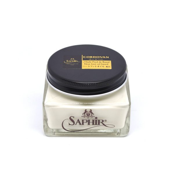 Saphir Cordovan Cream Shoe Polish Neutral