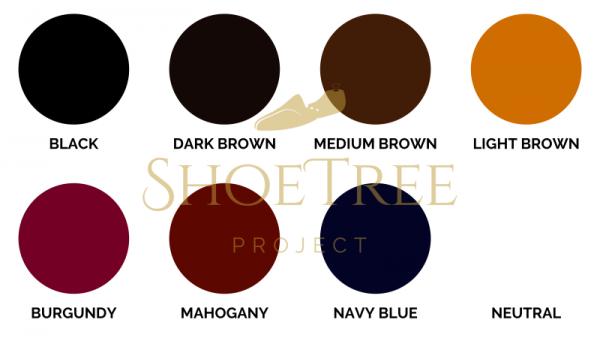 Saphir Colour Chart for Pommadier / Pate de Luxe Singapore