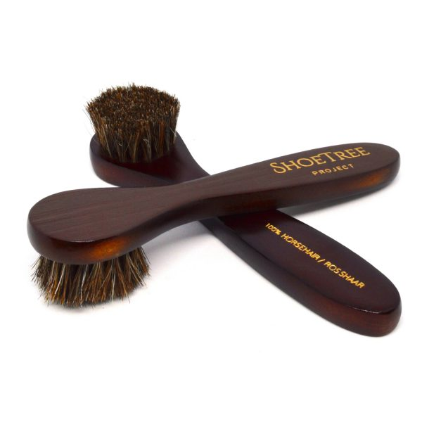Horsehair Shoe Polish Dauber Brush
