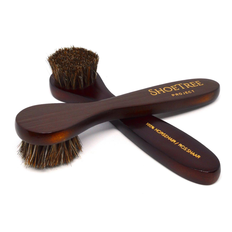 Horsehair Shoe Polish Dauber Brush