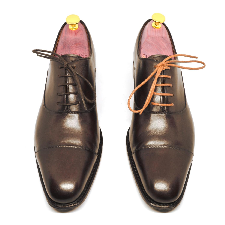 Colorful dress shoelaces