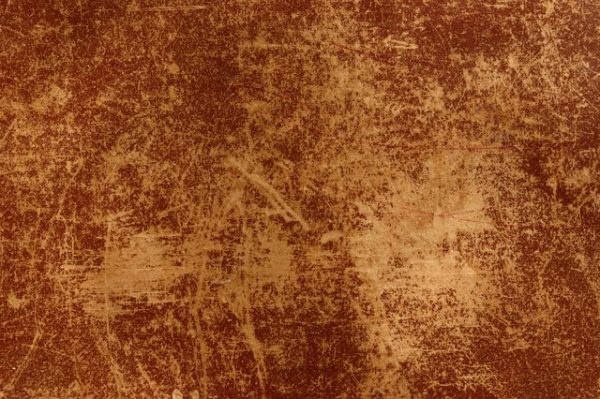 flaking leather
