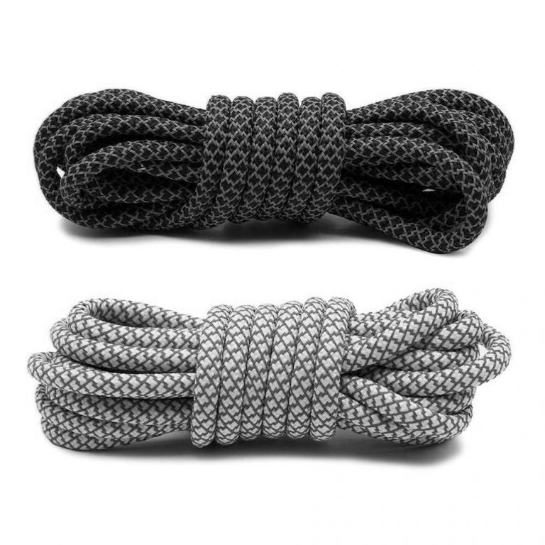 3M reflective rope shoelaces sneakers